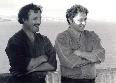 Pascal Krieger et Tiki Shewan